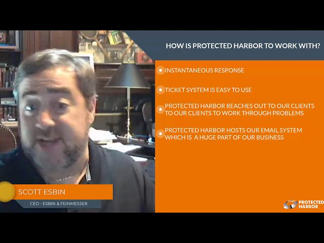 How is Protected Harbor to work with?