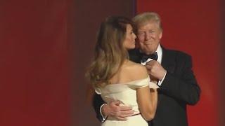 """Trump y Melania eligen """"My Way"""" de Sinatra para su primer baile presidencial"""