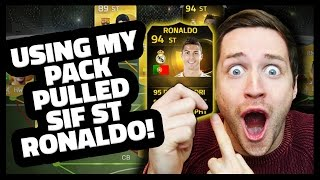 SIF PACK-PULLED RONALDO SQUAD BUILDER! Fifa 15 Ultimate Team Thumbnail