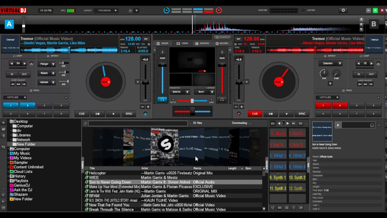 How to dj perfectly with virtual dj beginners tutorial youtube.