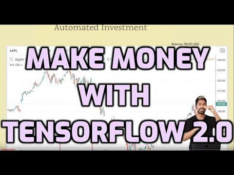 Make Money with Tensorflow 2.0