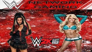 Ariel vs Kelly Kelly Full Match - WWE 2K16 Create a Diva Gameplay PS4 / XBOX ONE