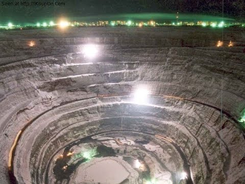 Mirny Mine - World's Biggest Diamond Mine, Russia