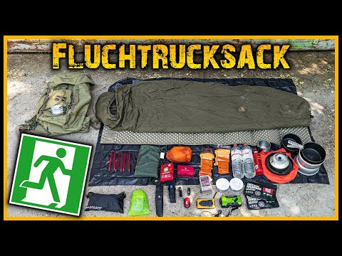 ☢️ Unser Fluchtrucksack ⚠️ Eine Woche überleben ☣️ - Bugoutpack Prepper Krisenvorsorge Survival