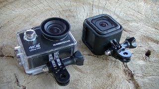 ACTION CAM 80€ ICONNTECHS 4K VS GOPRO HERO5 SESSION PROVA IN MTB