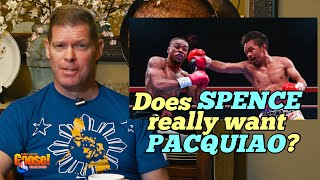 Does Spence Really want PACQUIAO? Spence wins against Porter!