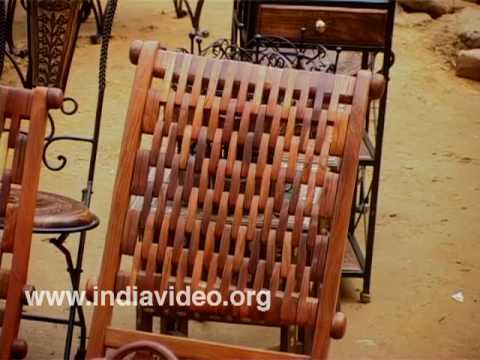 Wooden furniture and decoratives of Uttar Pradesh