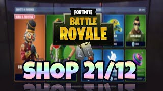SHOP FORTNITE today 21 December: new skin FOLLETTA, COLPO FROM MAESTRO (CRACKSHOT), CRACKABELLA