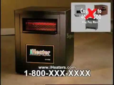 iheater quartz infrared electric heater review as seen on tv