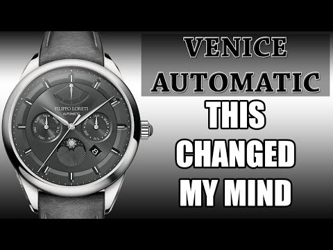 "🔥 Filippo Loreti Automatic Venice Watch Review 🔥 | Is This ""Fashion Watch"" Better Than You Think❓❓"