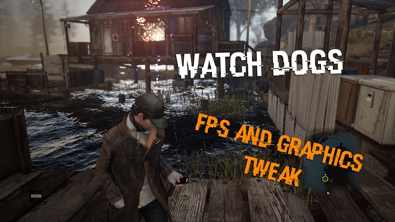 Watch Dogs PC Better performance tweak(more FPS) with better graphics for  low end GPU