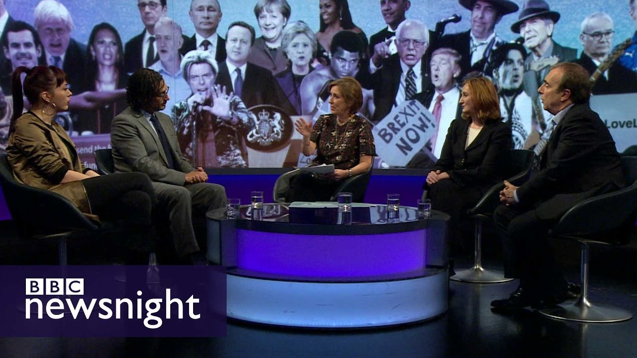 2016: What a year it has been... Debate - BBC Newsnight