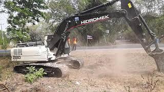 รีวิว แกะกล่อง สดๆ จากตุรกี ลงบุรีรัมย์ hidromex hmk220lc-2 excavator EP.4274