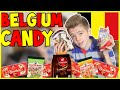 BRITISH TRYING BELGIUM CANDY - Simply Luke