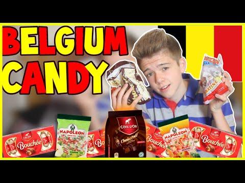BRITISH TRYING BELGIUM CANDY - Simply Luke