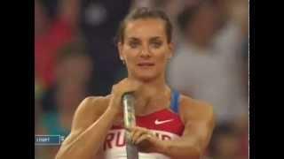 Мировой рекорд Ел. Исинбаевой на Олимпиаде в Пекине.