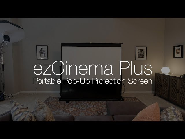 Elite Screens ezCinema Plus Portable Projection Screen