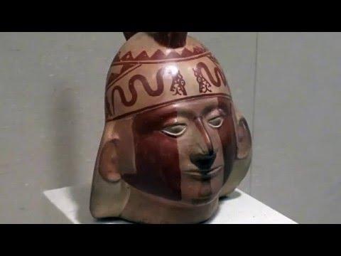 Moche Portrait Head Bottle