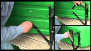 How To Assemble A Garden Dump Cart