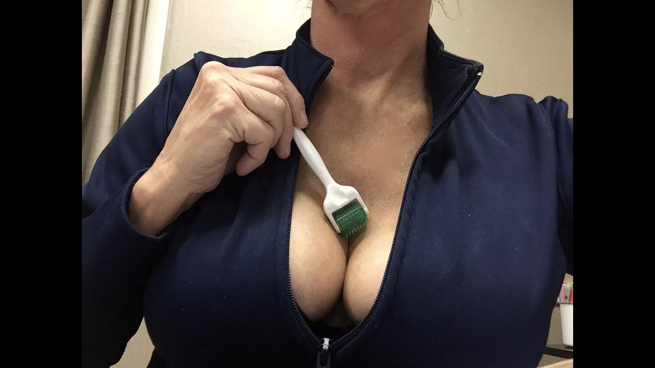 Decollage chest area