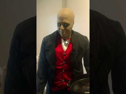 Gemmy Lifesize Animated Butler