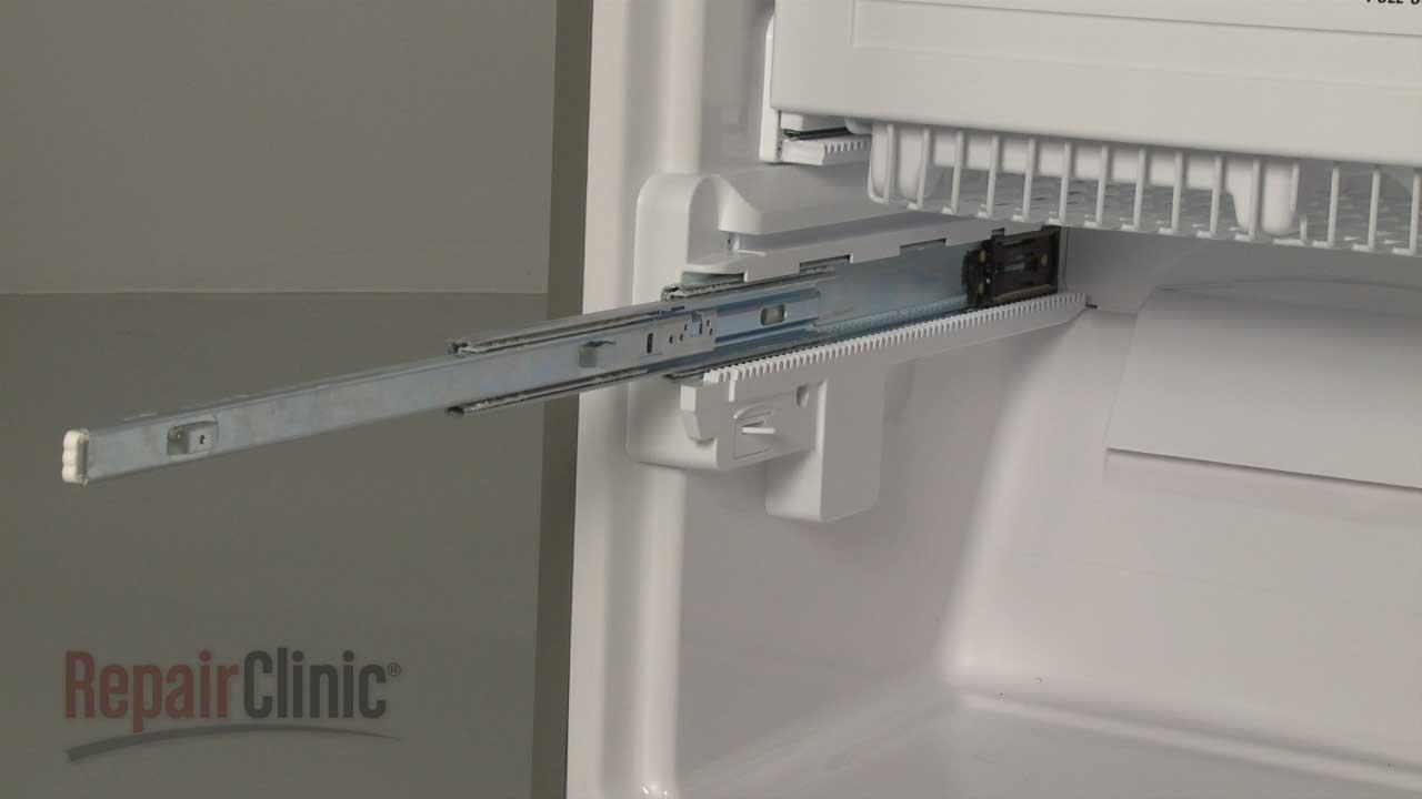 Lg Refrigerator Freezer Lower Drawer Left Rail