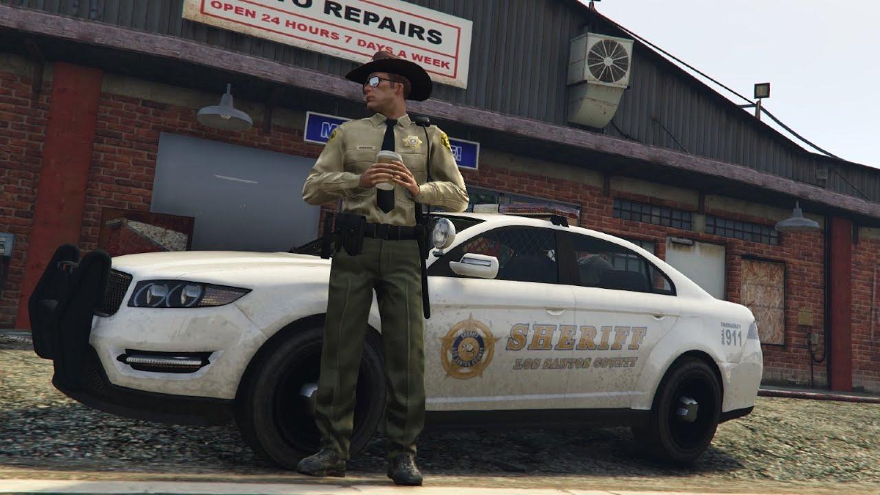 GTA 5 Mods - PLAY AS A COP MOD#1 (GTA 5 Mod Gameplay)- Làm cảnh sát[P1]