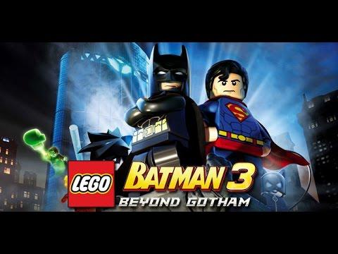 LEGO Batman 3: Beyond Gotham All Cutscenes (Game Movie) 1080p HD