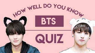 How Well Do You Know BTS? QUIZ [Easy Version]