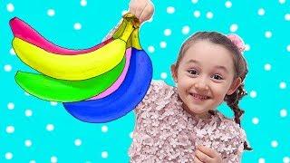 ÖYKÜNÜN RENKLİ MUZLARI - Toys banana, Play With  Learn colors