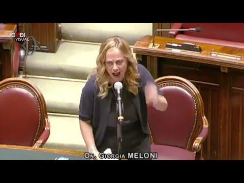 Proroga stato di emergenza, Meloni furiosa a Conte: 'Pazzi irresponsabili, non vi daremo tregua'