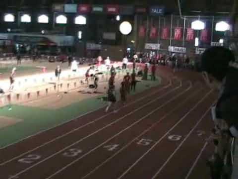 2008 Indoor Ivy League Track Championship (HEPS) 500m Final Heat 1