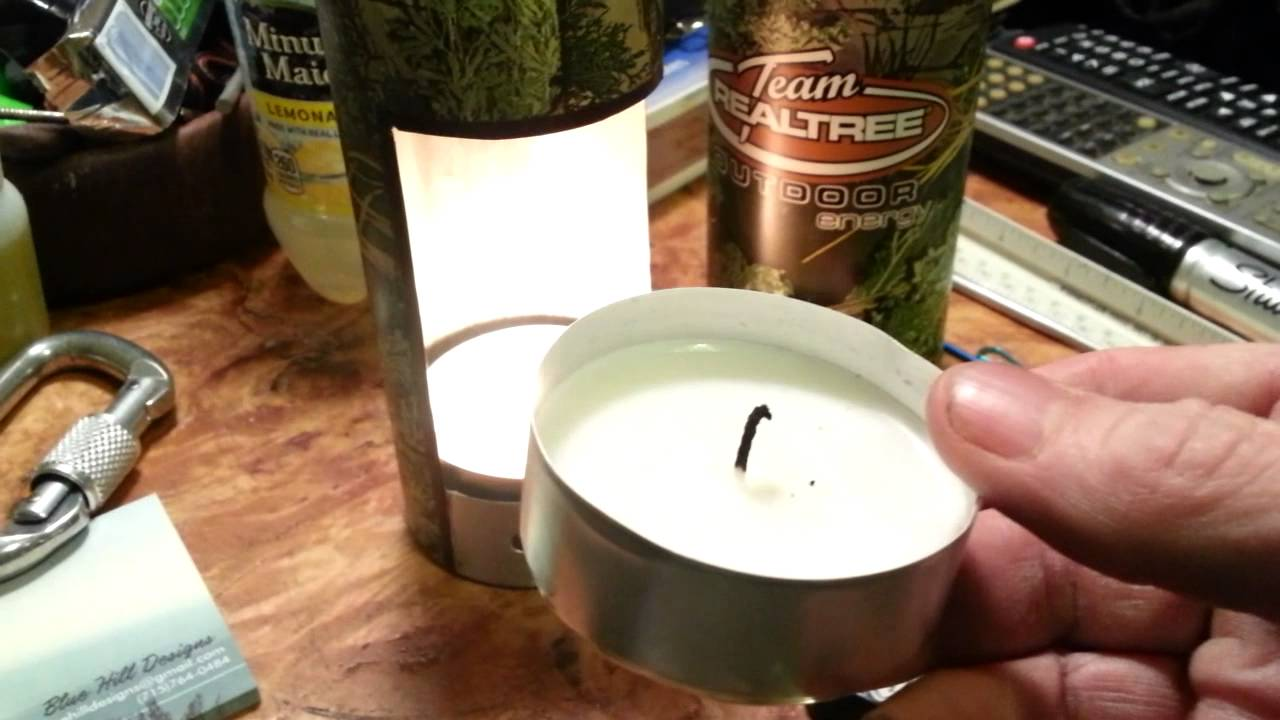 Diy Camo Candle Lantern Youtube