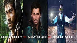 Far Cry 3 VS Far Cry 4 VS Far Cry 5 - Characters and Voices, Really Far Cry 5?