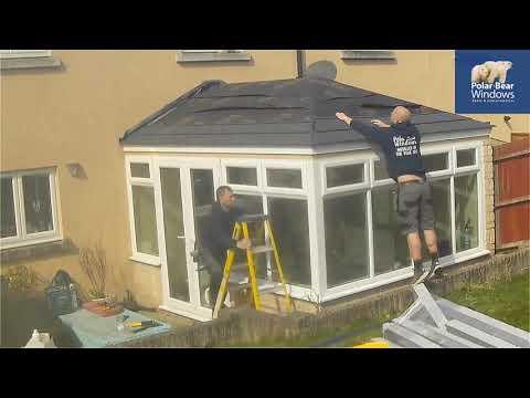 A Guardian Warm Core Roof. Installed By Polar Bear Windows Bristol
