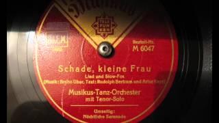 Eric Helgar - Schade schöne Frau (1934)