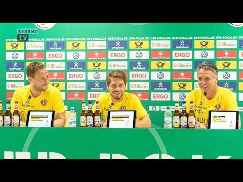 1. Runde DFB-Pokal | SGD - RBL | Pressekonferenz vor dem Spiel