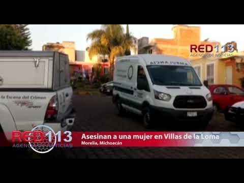 VIDEO Asesinan a una mujer en Villas de la Loma