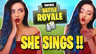 One of AngelMelly's most viewed videos: Picking Up Guys SINGING and PLAYING PIANO on Fortnite ! - Battle Royale