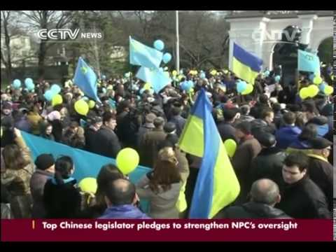 "Ukrainian PM: Won't give up ""a single centimetre"""
