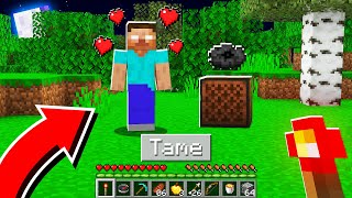 How to TAME a FRIENDLY Herobrine in Minecraft! (Mobile, PS4, Xbox, PC, Switch)