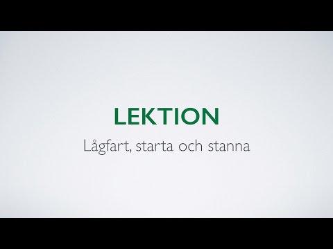 Videoutbildning till körkort - Starta och stanna  - Biljakten.nu