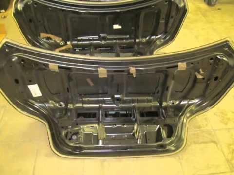 Крышка багажника БМВ 5 серии Ф10 Ф11 41627240552  5 ая дверь BMW 5 series F10 F11
