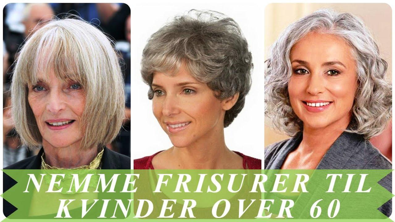 Til ældre kvinder frisurer De bedste