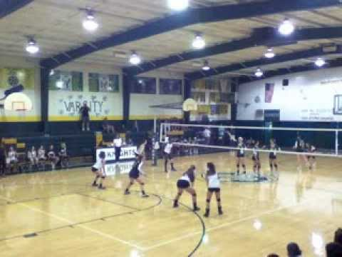 Emily Morgan #2 Volleyball Ontario Christian Highlights