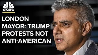 Trump Is Doing An 'Interesting' Job: London Mayor Sadiq Khan | CNBC