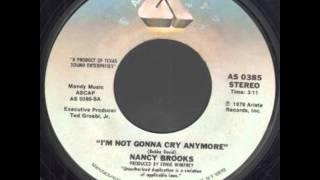 Nancy Brooks - I