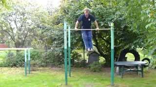 Ojciec... Street Workout - Motywacja w wieku 40 lat. Szprotawa.