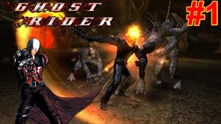 Ghost Rider PS2 Gameplay #1 [Rip-Off Devil May Cry?!!]