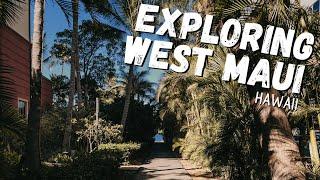 Exploring West Maui, Hawaii   Kaanapali Beach & Lahaina   Hawaii 2021